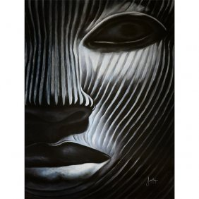 Masked Gallery Wrap