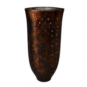 Goldware Crystal Vase-tall