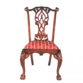 Gothic Chippendale Dining Room Chair
