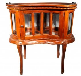 Chippendale Glass Cabinet