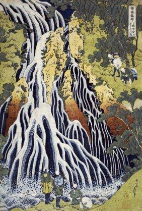 Hokusai - The Kirifuri Waterfall