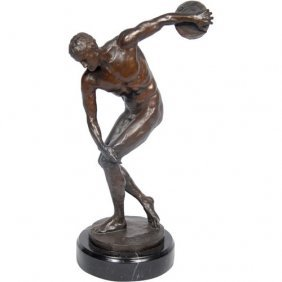 Bronze Discus Thrower