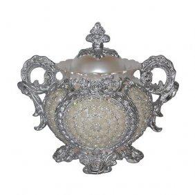 Crystal Pearl Urn