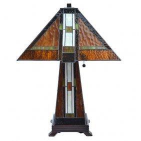 Arts & Craft Lamp