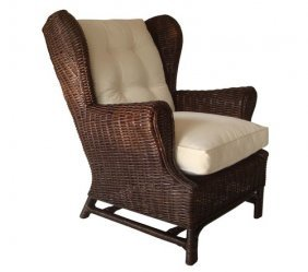 Winged Rattan Chair-col Expres