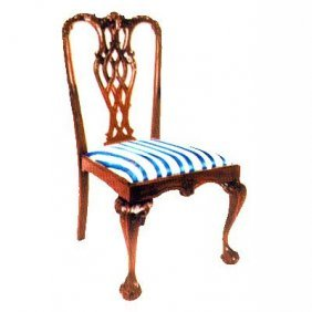 Stuart Chippendale Dining Room Chair