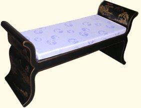 Oriental Bench Lotus Style