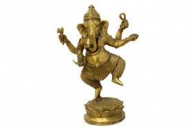 Bronze Dancing Ghanesh
