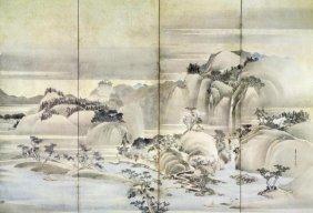 Hokusai - Landscape Spring And Summer