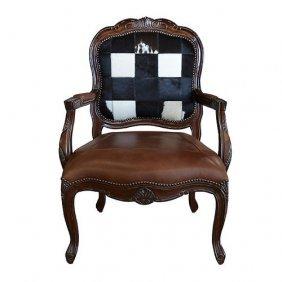 Leather & Hide Asstd Chair 2