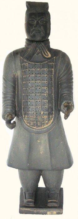 Chinese Warrior Statue Xhian