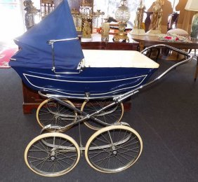 Antique English Marmet Baby Stroller Antique English