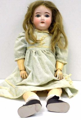 "Simon & Halbig - 1909 23"" Bisque Doll Simon & Halbig"