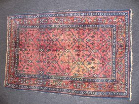 19th Century Persian Heriz Rug