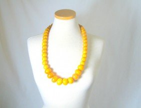 Baltic Amber Beaded Necklace