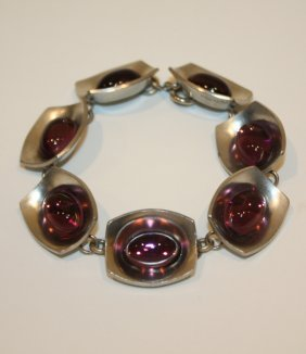 JORGEN JENSEN Pour PEWTER - Bracelet  En M�tal Bros
