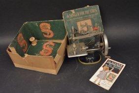 The Singer 20 Salesman Sample Sewing Machine Toy