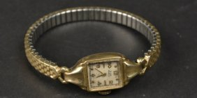 10k Gold Filled Elgin Deluxe Watch