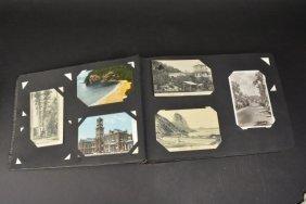 Postcard Album W/ (200+) Vintage Postcards