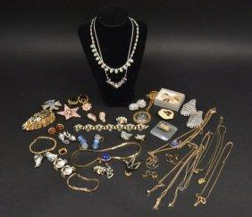Designer Signed Estate, Costume & Sterling Jewelry