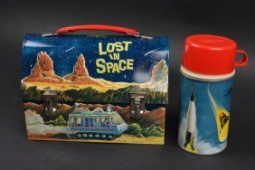 1967 Lost In Space Dome Top Lunch Box - Near Mint!