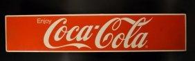48 X 10 Coca-cola Metal Sign / Topper