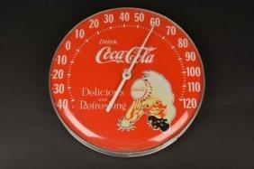 Coca-cola Dial Thermometer Sprite Boy