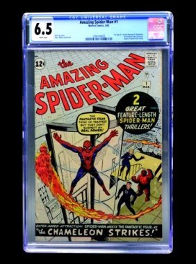 Amazing Spider-Man #1 (MC, 1963) CGC 6.5