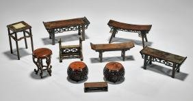 Ten Fine Chinese Wood Stands
