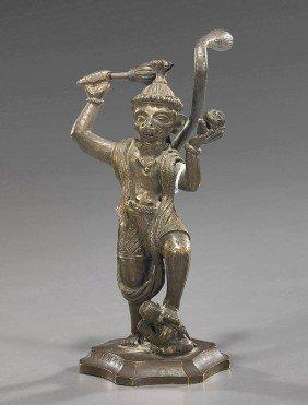Indian/Southeast Asian Bronze Deity