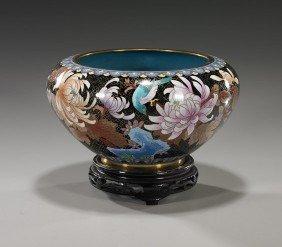 Chinese Cloisonn� Enamel Bowl