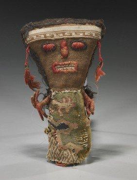 Peruvian Pre-Columbian Fabric Doll