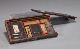 Antique Japanese Portable Writing Kit
