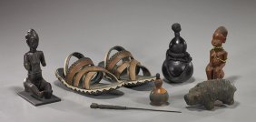 Group Of Various Old African Items