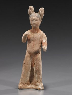 Tang Dynasty Painted Pottery Figure