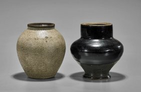Two Small & Antique Chinese Vases