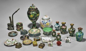 Group Of 25 Various Chinese Items