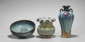 Three Song-style Glazed Vessels
