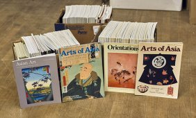 Large Collection Of Various Asian Art Magazines