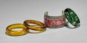 Four Various Bracelets