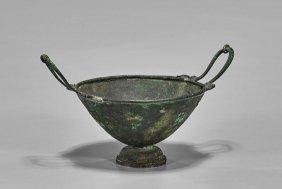Grand Tour Roman-style Bronze Kylix