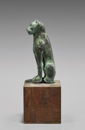 Egyptian-style Bronze Cat