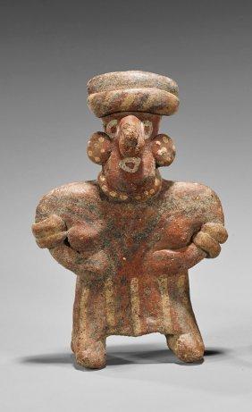 Pre-columbian Nayarit Standing Female