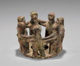 Mayan-style Pottery Circle Of Friends