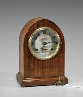 American Seth Thomas Wood Mantel Clock