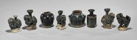 Eight Song/jin Dynasty Blackware Vases