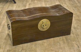 Chinese Camphor Wood Blanket Chest