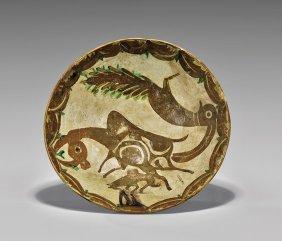 Large Nishapur Glazed Bowl