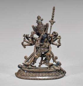 Sino-tibetan Coppery-bronze Deity