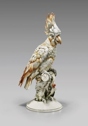 German Porcelain Bird